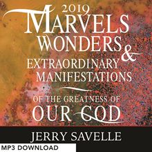 Picture of Marvels, Wonders & Extraordinary Manifestations of the Greatness of Our God - MP3 Download
