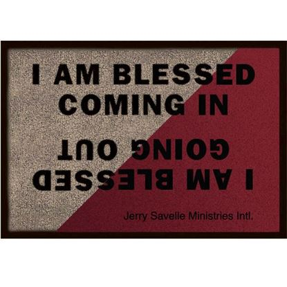 Picture of Doormat - I Am Blessed Coming And Going