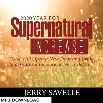 Picture of 2020 The Year For Supernatural Increase - MP3 Download