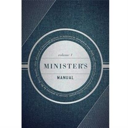 Picture of Ministers' Manual Volume 1